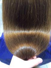 驚くべきツヤが出て髪質改善できました。 ヘアーメイク所属・ヘアーメイク所属のスタイル