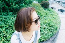 夏を感じるアッシュ系カラーのショートボブです! ケンジントンワンダー東中野店所属・小川敏輝のスタイル