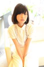 柔らかい質感の髪に仕上げました(*^_^*)カットとデジタルパーマだけでブローはしていません♩ ヘアーメイクミューズ二条所属・奥村誠のスタイル