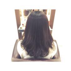縮毛矯正×デジタルパーマ 縮毛矯正したいけど毛先がストンとなりたくない方にオススメです STYLE横浜所属・大平美沙のスタイル