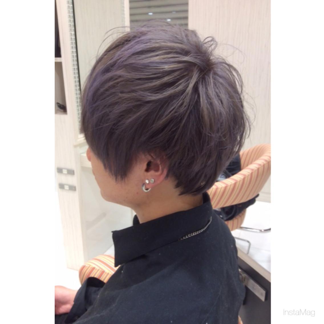 アッシュパープル|Agu hair livet 池袋東口店所属・stylist