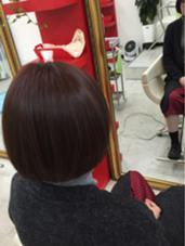 レッドブラウン☆イルミナカラー☆ 天羽康寛のスタイル