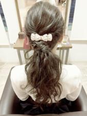 今話題の外人風波ウェーブを少しプラスしたらヘアセット☆ ゆるいパーティースタイル☆ Dita AIR所属・生方拓杜のスタイル