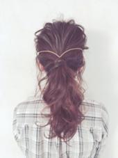 hair arrange☆  かたくらしおりのスタイル
