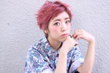 ショートボブ!ブリーチオンカラー!! neolive cherie所属・貝塚葉月のスタイル