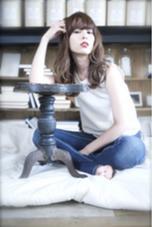 外国人風color 透明感のあるアッシュベージュ  Luta所属・和泉田瞳のスタイル