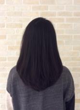 黒髪でもクールになりすぎないカットです! ICHIRIN千葉所属・中村レミのスタイル