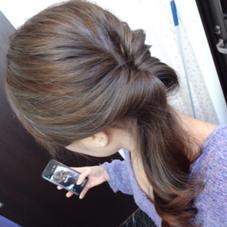 シルバーアッシュのハイライト!! 大人に女性にも上品な雰囲気を壊さず1ランク上のヘアスタイルへ! Lolonois梅田所属・Lolonois梅田のスタイル