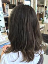人気のグレージュカラー(≧ω≦) 寒色は任せてください\(^o^)/ Hairmake  earth 長崎時津店所属・松本淳のスタイル