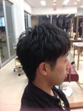 2ブロでスッキリヘアスタイル! 江口葵のスタイル