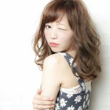 イルミナカラー☆ヌードベージュでやわ髪に☆ atreve表参道所属・HinnaTのスタイル