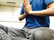 瞑想 ♯ヨガ♯経絡♯瞑想♯自分と向き合う♯こころとからだをつなぐ ヨガスタジオ/出張整体院アーリア所属・星裕介のフォト