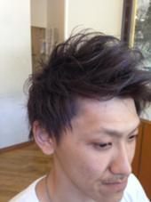 松本平太郎美容室   立川店所属・富田隼仁のスタイル