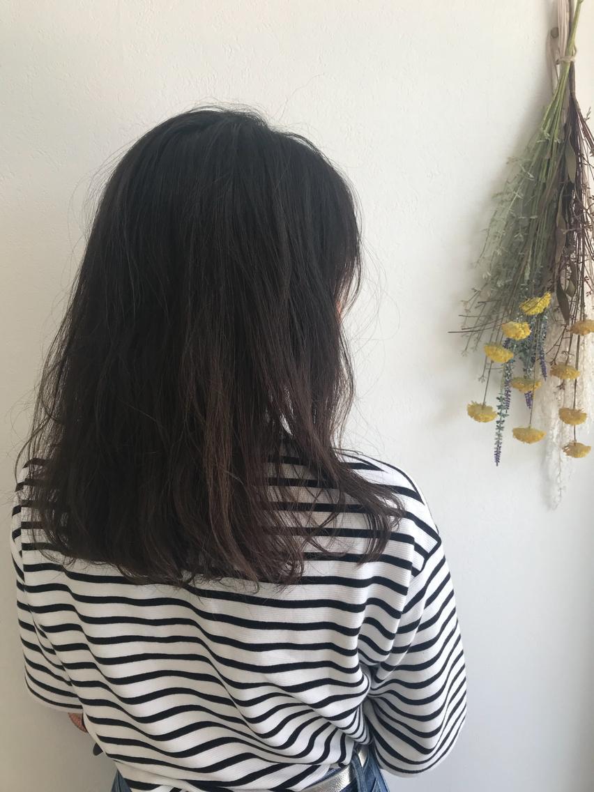 #セミロング #メンズ これから生えてくる髪の為に炭酸スパで頭皮の皮脂を綺麗にし血流を良くします✨