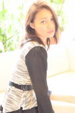 無造作ヘアの王道☆かきあげバングで外国人風ヘアをご提案♩(((o(*゚▽゚*)o))) ヘアーメイクミューズ二条所属・奥村誠のスタイル