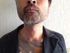 メンズヒゲワックス脱毛に挑戦前です。 1週間伸ばして、5ミリぐらいになりました。 これはこれで渋い感じです(^^) KAISEIDO所属・鈴木直子のフォト