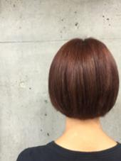 ブラウンにほんのり赤を♫ ABBEY2所属・saekoiizukaのスタイル