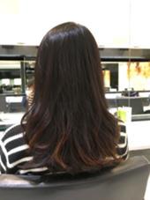 直毛の方でもデジタルパーマならきれいなカール感再現できます(^o^)/  是非お試しあれ(^○^) NYNY所属・岩破瑞希のスタイル