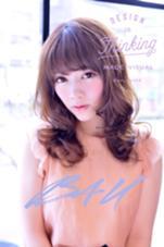 セクシーカールで可愛いさUP☆ B4U hair所属・IshibashiKazuyukiのスタイル