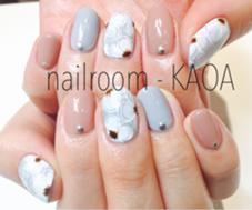 フラワーネイル nailroom-KANOAのフォト