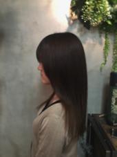 KERASTASEの極上トリートメントで痛んだ髪をばっちり補修し ます\(^o^)/ IGREK PARIS所属・佐藤英のスタイル