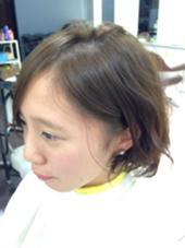 ふんわり!オリーブアッシュ R's hair所属・中山理沙のスタイル