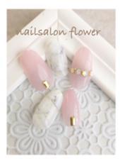 大人上品天然石ネイル♡ nailsalon   flower所属・nail salonflowerのフォト
