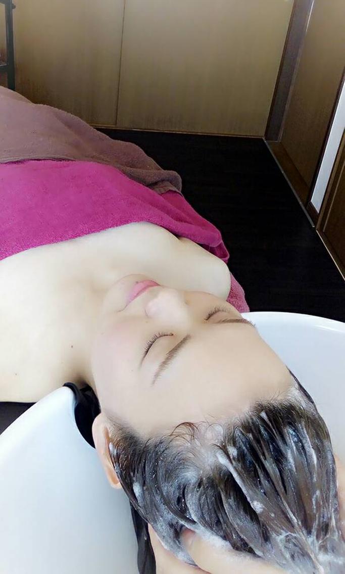 #その他 miosフェイシャル癒しのヘッドスパコース☆眼精疲労,肩こり,美肌,美髪,リフトUPに効果◎