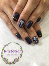マットコート  シンプルコース 2200円 Wisteria所属・nail salonWisteriaのフォト