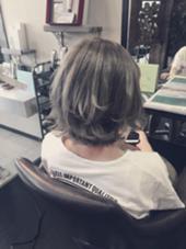 良い感じのやーつ hair design GARAGE所属・荻原進太のスタイル