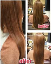ヘッドスパとトリートメントで髪の毛にツヤが☆髪質改善もおまかせください✨ MODE  K's尼崎所属・鶴田望美のスタイル