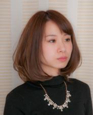 ☆愛されワンカールボブ☆ hair  gentil所属・松本てるひとのスタイル