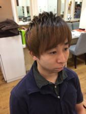 メンズカット(・Д・)ノ カラーは根元を黒く3Dメンズカラー 束感や動きがわかりやすい(≧∇≦) KAMI-YU所属・kyoheiitoのスタイル