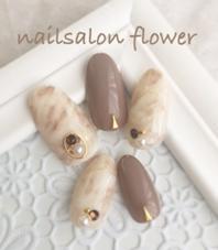 秋冬大人上品ネイル♡ nailsalon   flower所属・nail salonflowerのフォト
