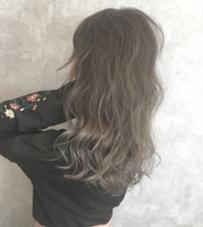 山本瑞希のロングのヘアスタイル