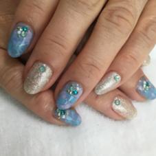 梅雨の季節にもぴったりなカラー LaLa Nails所属・中山梢のフォト