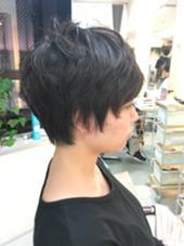 ショートヘアスタイル FIX-UPGINZA所属・奈良岡なぎさのスタイル