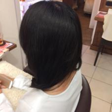 ロングパーマで大人女性感! ジャストヘアーCOMP横須賀中央コア店所属・石橋和磨のスタイル