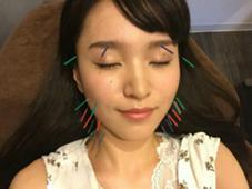 美顔鍼 モデル森山くるみさん 整体系女子の聖地『らむ鍼灸ほんまち店』所属・らむyuのフォト