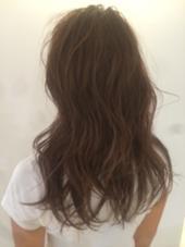 得意な透ける質感ヘアカラー 赤みの強く出やすい髪質でもお任せください♡ 木原和樹のスタイル