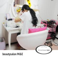 まつエクセルフ講習の様子☆ 自分でマツエクがつけられるようになれちゃいます♪マンツーマンレッスンなので安心!キャンペーン中は¥35000が¥25000とお得♪ 詳細はブログもしくはお問い合わせ下さい(*^^*) beautysalonM&E所属・やまぐちみきのフォト