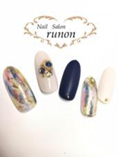 艶仕上げに2本マットコートをプラス♡(プラス¥200) nailsalon   runon 〜ルノン〜所属・runonnailのフォト