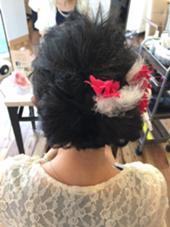 和洋折衷なセット Hair Design D.c.t所属・平田秀一のスタイル