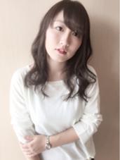 柔らかい透明感のあるグレージュカラー crop es 辻堂店所属・星野弘樹のスタイル
