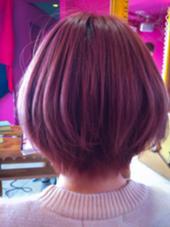 【ピンクアッシュ】色味を求めるあなたへ★カット+ブリーチ+カラー+トリートメント¥18000→¥12000 hairpeople所属・ミネヒロのスタイル