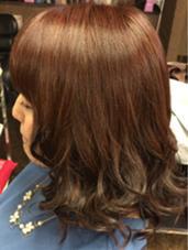 暖色系カラー ヘアスペース  CoCo所属・長谷川幸大のスタイル