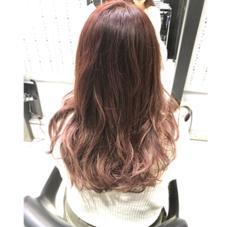 ピンク×バイオレット  透明感のある暖色です! C-LOOP UNITED VIV所属・中谷蓮のスタイル