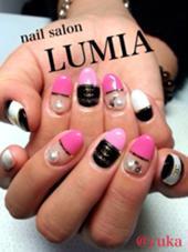 パロディネイルも取り扱っております(^^) nail salon LUMIA所属・nailsalonLUMIAのフォト