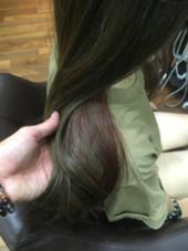 全然明るめのアッシュにインナーカラーピンクなども周りと差が出てオススメです(^ ^) raruga本店所属・東條克義のスタイル