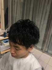 適当にバサバサするだけでスタイリング可能!朝のヘアセット面倒な方へオススメ マッシュ  KISEI幸町所属・津川太斗のスタイル